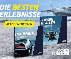 Jochen Schweizer Erlebnisgeschenke